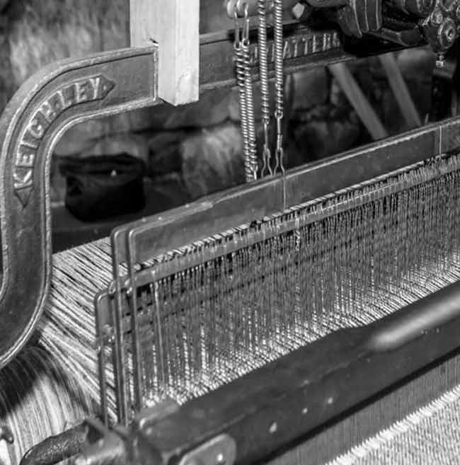 Hattersley Aladdin Weaving loom
