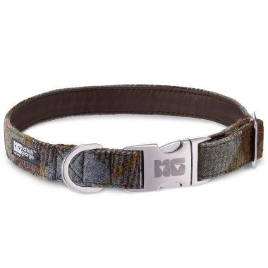 Harry's Conker Dog Collar with Chestnut Leather