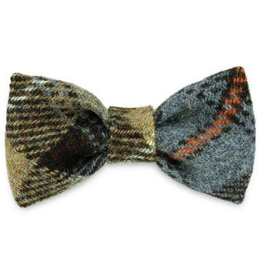 Cooper's Blue Dog Bow Tie