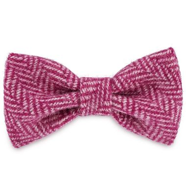 Ellie's Pink Delight Dog Bow Tie