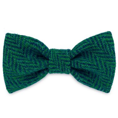 Frankie Goes Turquoise Dog Bow Tie