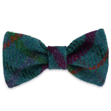 Gus's Turquoise Dog Bow Tie