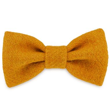 Honey Sunflower Dog Bow Tie