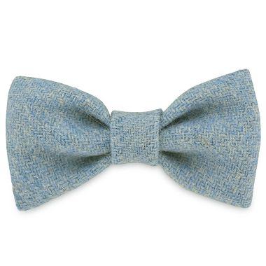 Hugo's Blue Wave Dog Bow Tie
