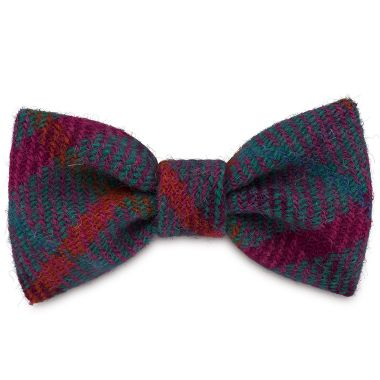 Lily's Check Dog Bow Tie