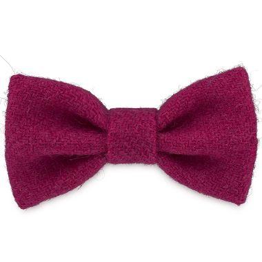 Luna's Blush Dog Bow Tie