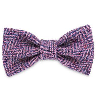 Mia's Purples & Pinks Dog Bow Tie