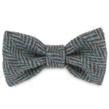 Milo's Blue Arrow Dog Bow Tie