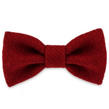 Poppy Red Dog Bow Tie