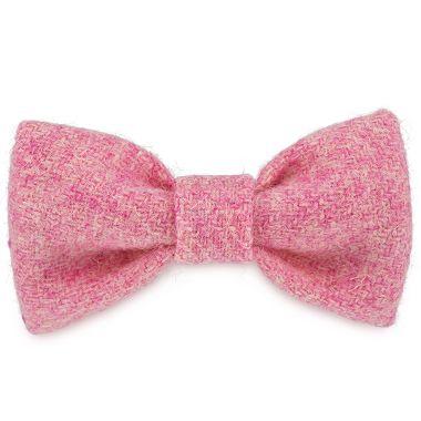 Rosie's Pink Dog Bow Tie