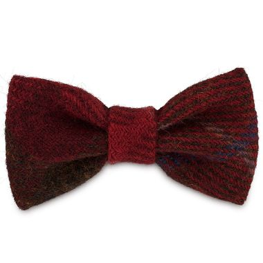 Rusty & Red Dog Bow Tie