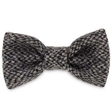 Salt & Pepper Dog Bow Tie