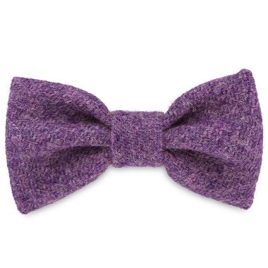 Sasha's Purple Dog Bow Tie