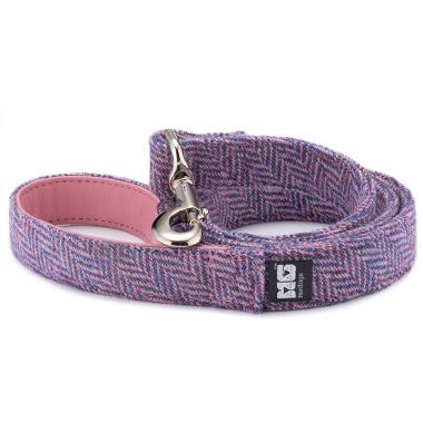 Mia's Purples & Pinks Dog Lead